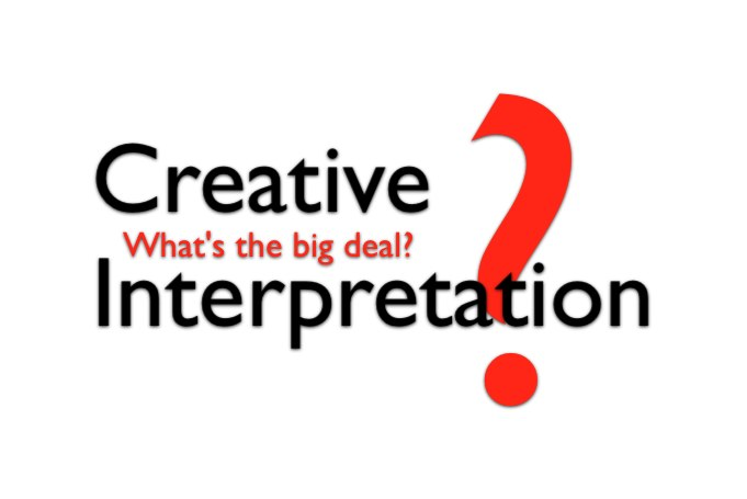 Creative Interpretation